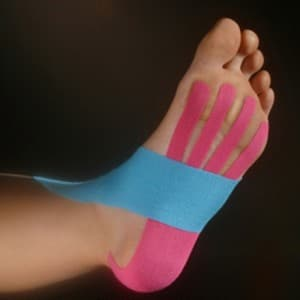 kinesio tape foot