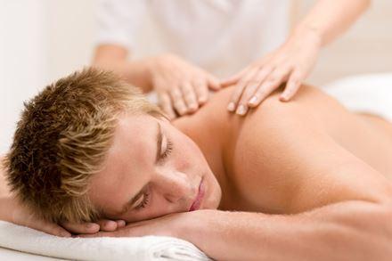 Man Having A relaxing Massage